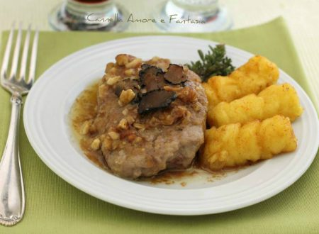 Filetto al tartufo e noci