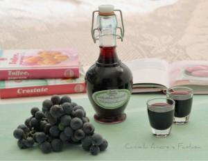 Liquore all'uva fragola 1