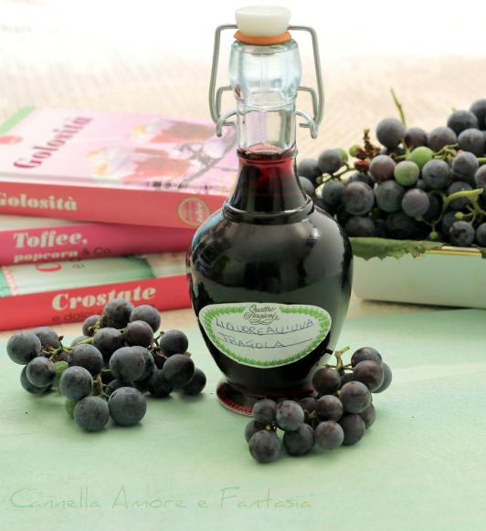 Liquore all'uva fragola 2