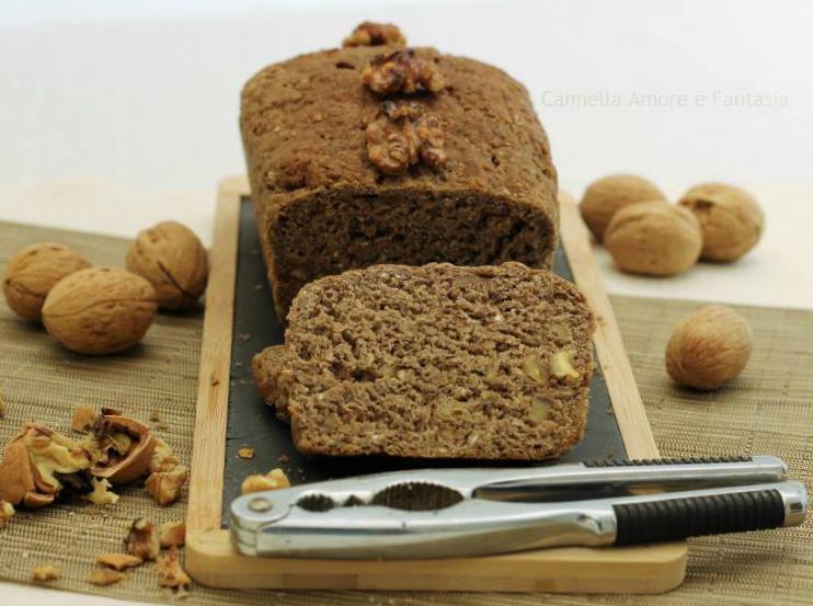 Pane alle noci integrale e senza lattosio – ricetta norvegese