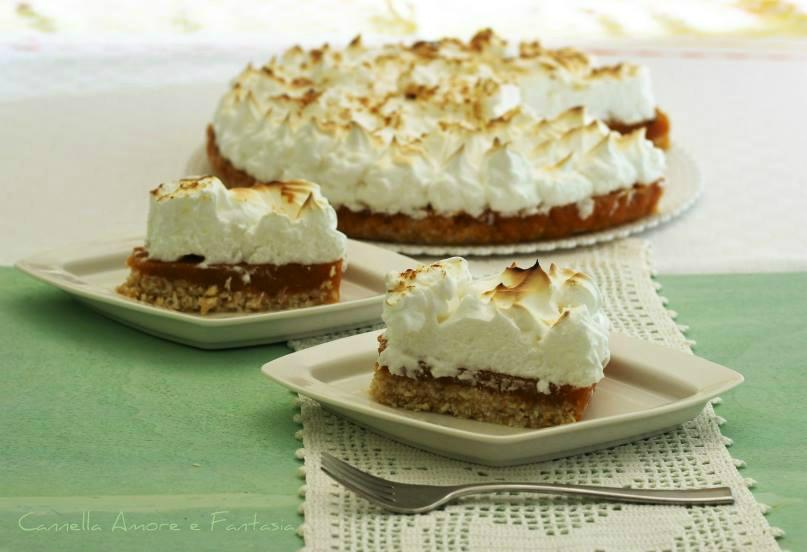 Coconut pumpkin chiffon pie – ricetta senza cottura in forno