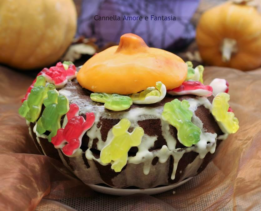 Torta al cioccolato dolce zucca – Ricetta Halloween per i più piccoli