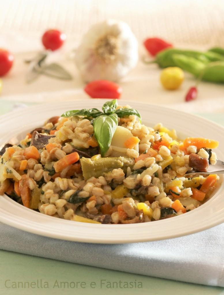 orzotto risottato alle verdure