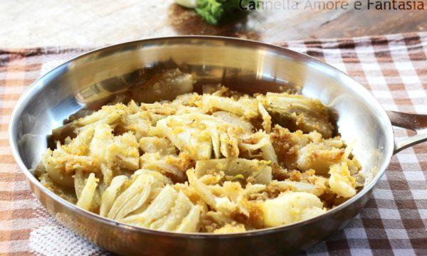 Finocchi sabbiosi in padella – ricetta siciliana facile e sfiziosa