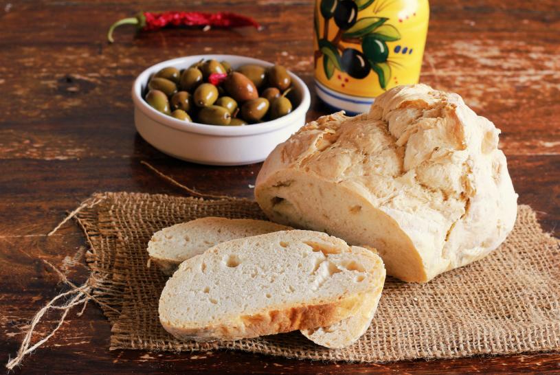 Pane di semola siciliano