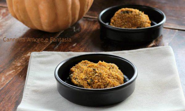 Rosti di polenta e zucca – ricetta vegetariana