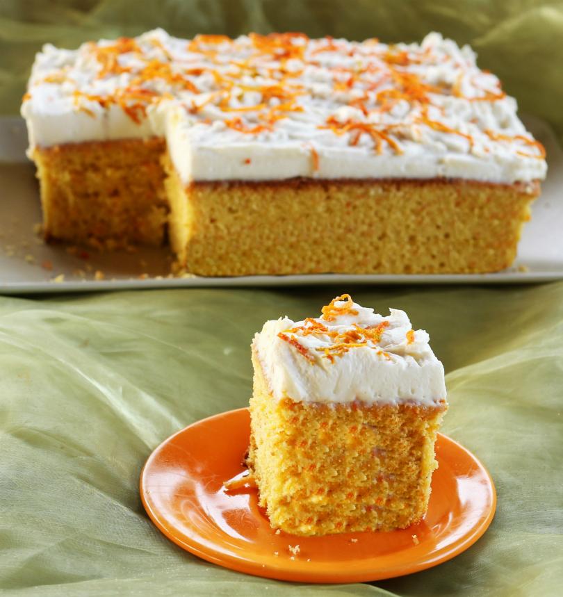 Torta di carote all'arancia 1