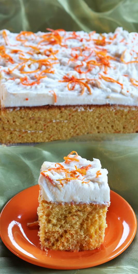 Torta di carote all'arancia 2