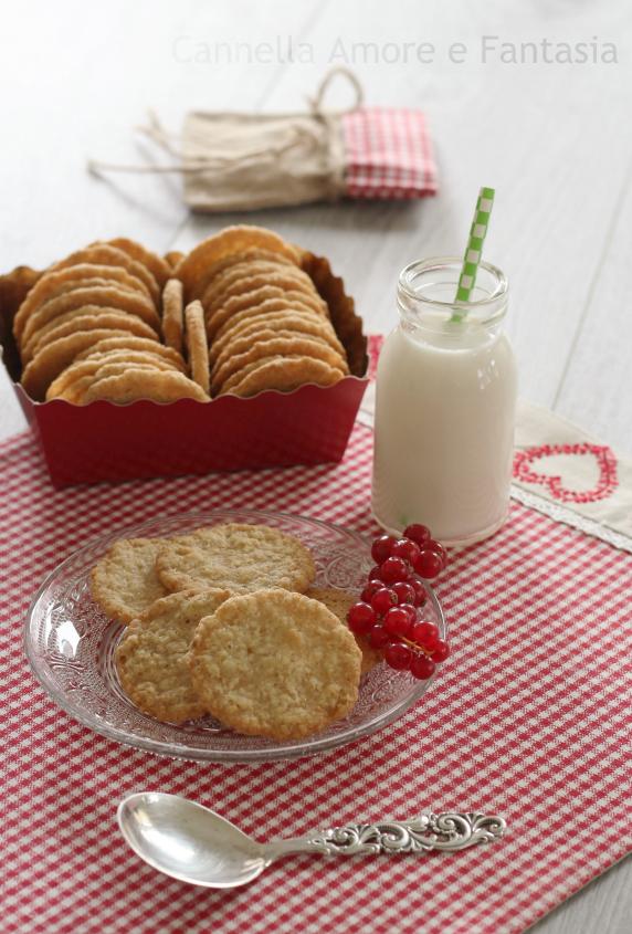 Biscotti di avena norvegesi
