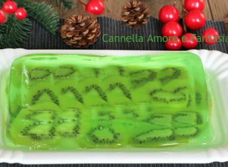 Gelatina di kiwi – dessert senza glutine -senza uova e senza lattosio