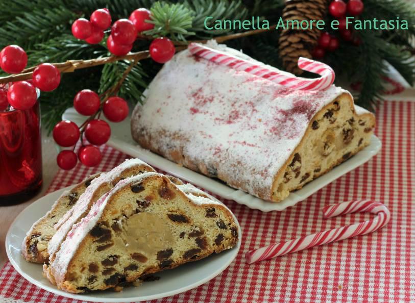 Ricetta Stollen dolce di frutta tedesco - ricetta tipica natalizia tedesca