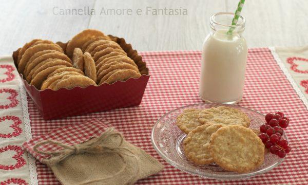 Biscotti di avena norvegesi – Havreflan