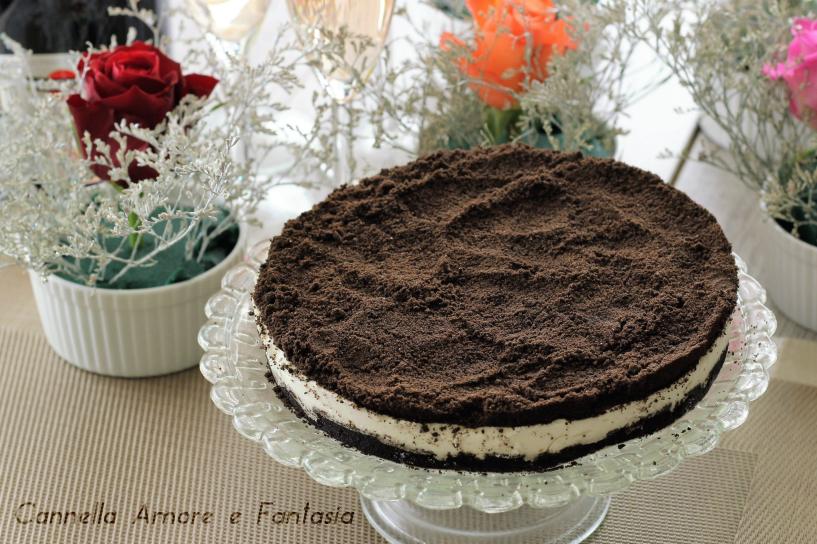 Oreo Cheesecake – ricetta dolce al formaggio con biscotti oreo