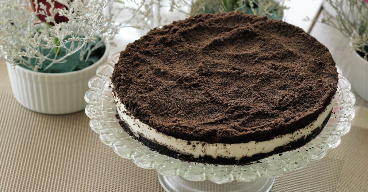 Ricetta torta biscotti oreo