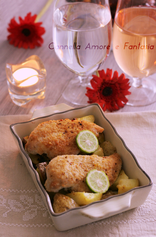 Petti di pollo gratinati al forno