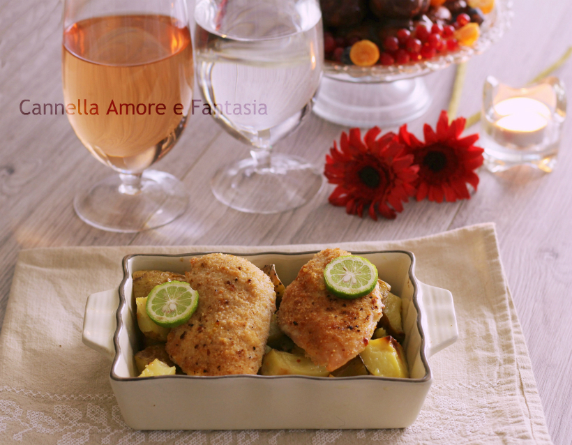 Petti di pollo gratinati al forno ricetta