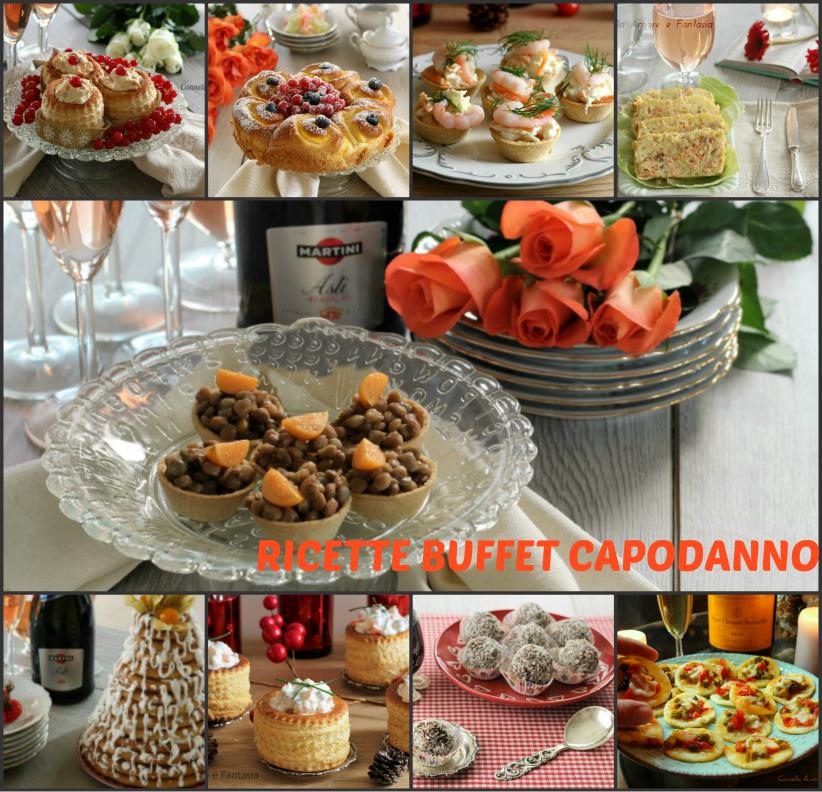 Raccolta di ricette per buffet di capodanno – stuzzicherie e dessert perfette per festeggiare in allegria