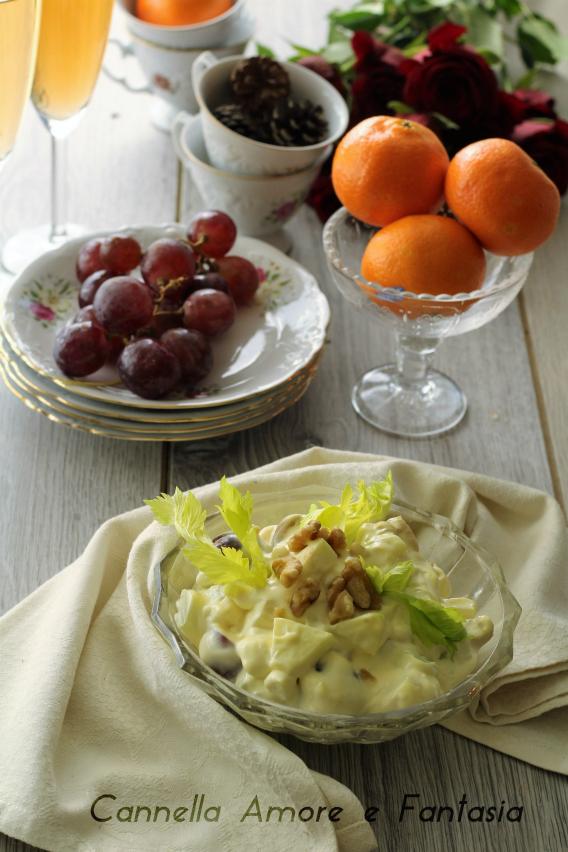 Waldorf salat - insalata waldorf 1