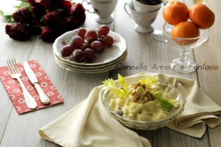 Waldorf salat - insalata waldorf