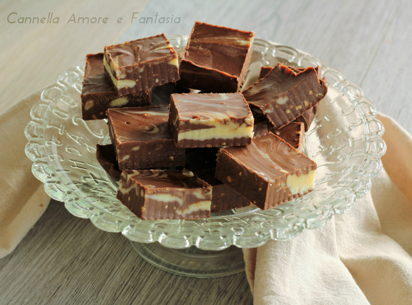 Double chocolate fudge