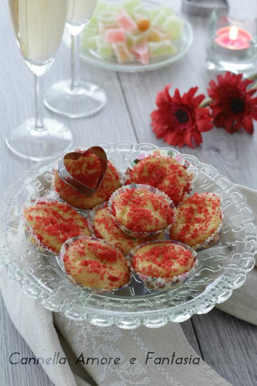 Muffins di san valentino ..