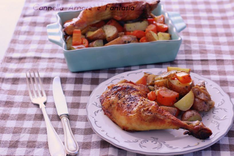 Pollo marinato alla greca 1