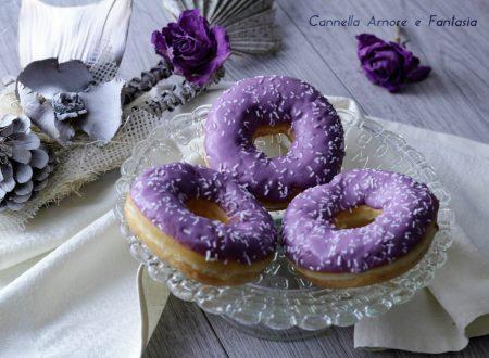 Purple Doughnuts