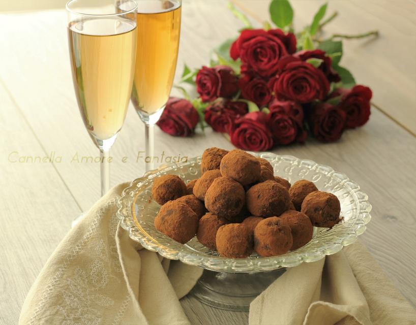 Tartufi black forrest – ricetta facile e cioccolattosa