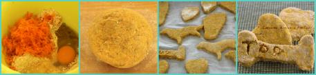Biscotti per cani collage