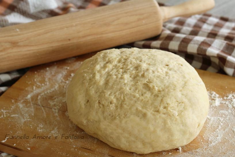 Impasto pizza con farina di farro e LM