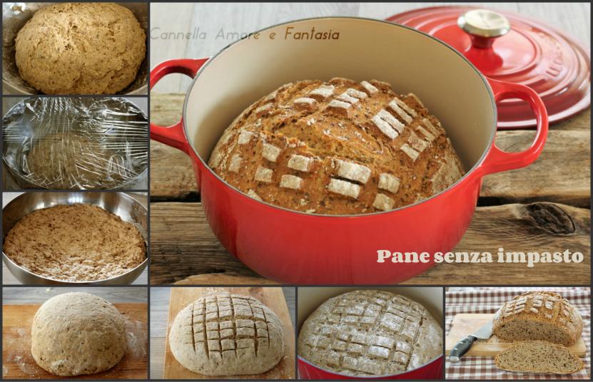 Pane senza impasto ai 5 cereali