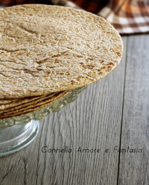 Ricetta tortillas integrali