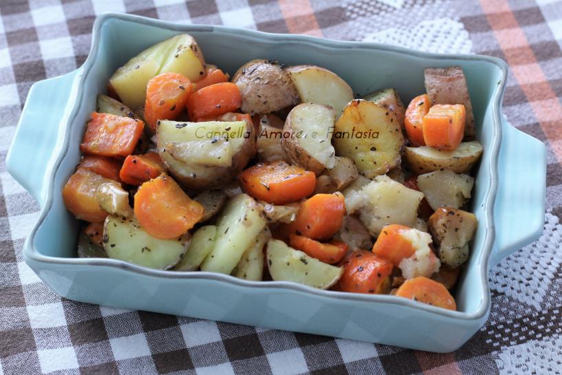 Verdure al forno ricetta norvegese .