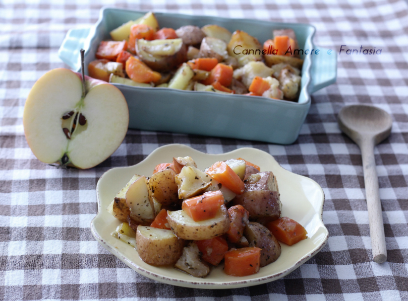 Verdure al forno ricetta norvegese