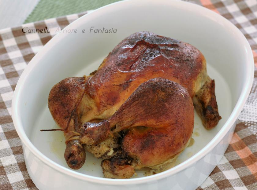 Pollo arrosto come prepararlo
