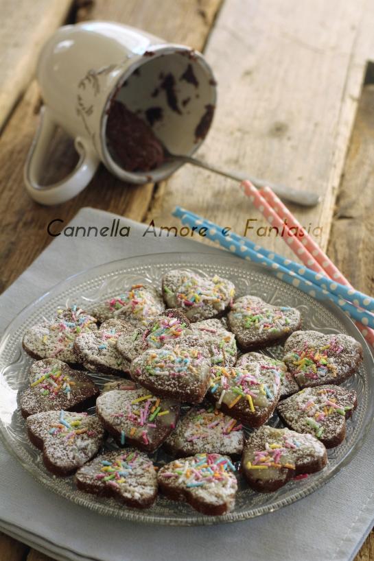 Biscotti al doppio cioccolato +