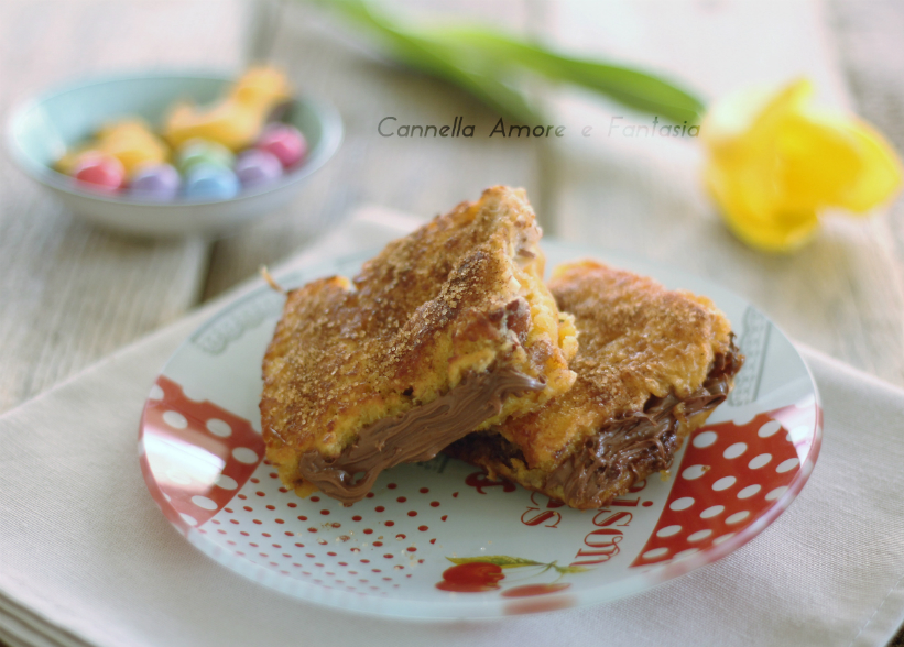 French toast di colomba pasquale