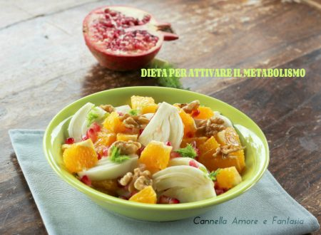 Dieta per riattivare il metabolismo