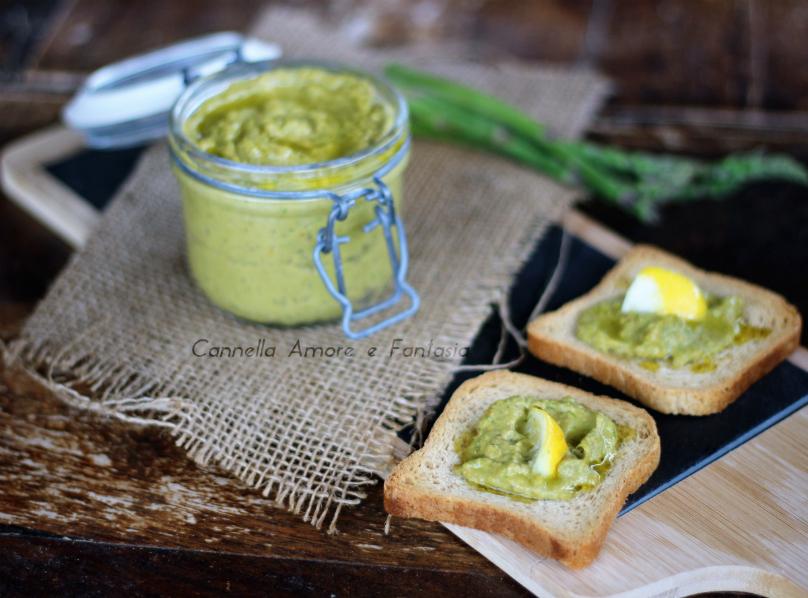Pesto asparagi e avocado .