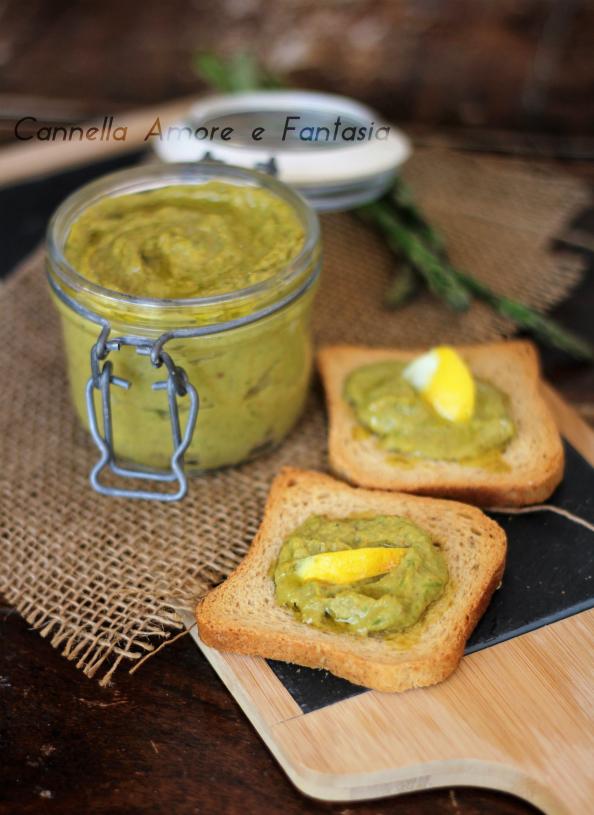 Pesto asparagi e avocado