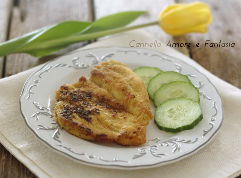 Pollo impanato senza glutine e uova