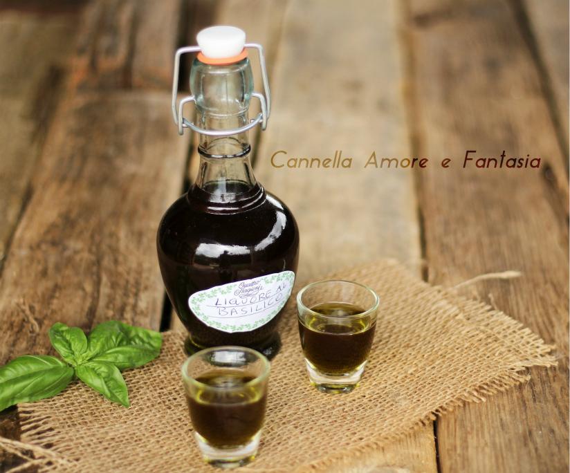 liquore al basilico +
