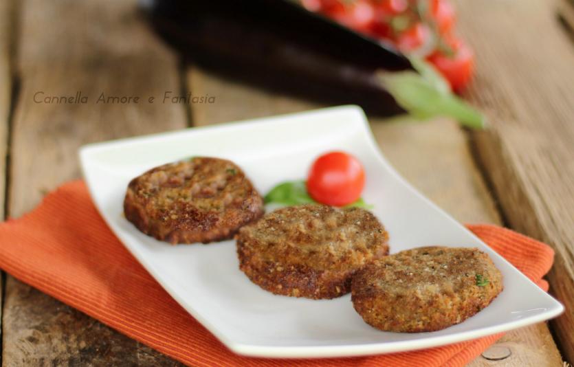 Hamburger di melanzana – ricetta vegetariana golosa