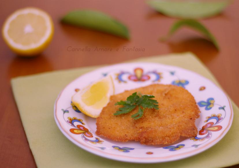 Cotoletta di pollo alla siciliana