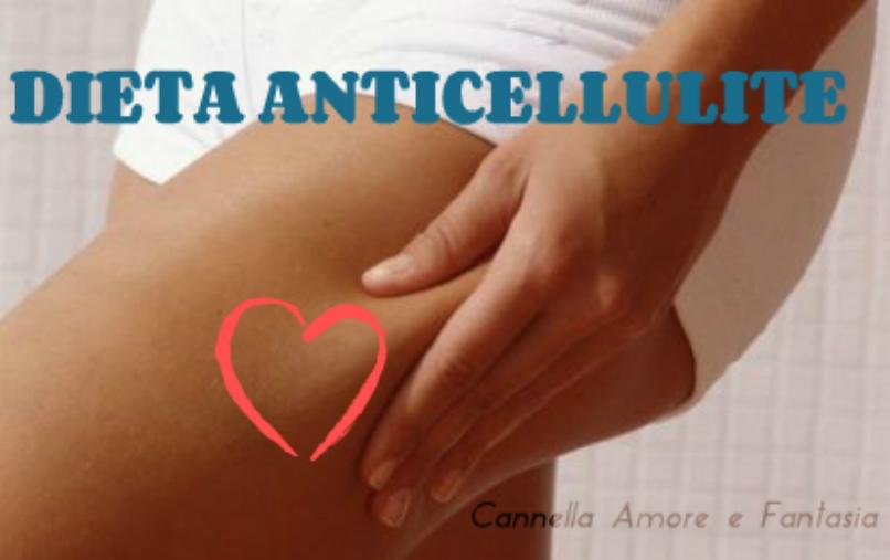 Dieta anticellulite – perdi 1/2 kg a settimana