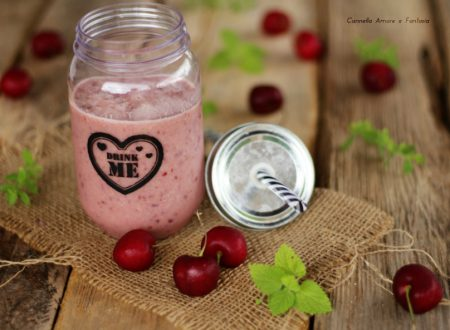 Frullato di ciligie – sostitutivo pasto 342 Calorie
