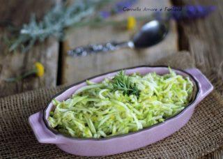 Insalata di zucchine .