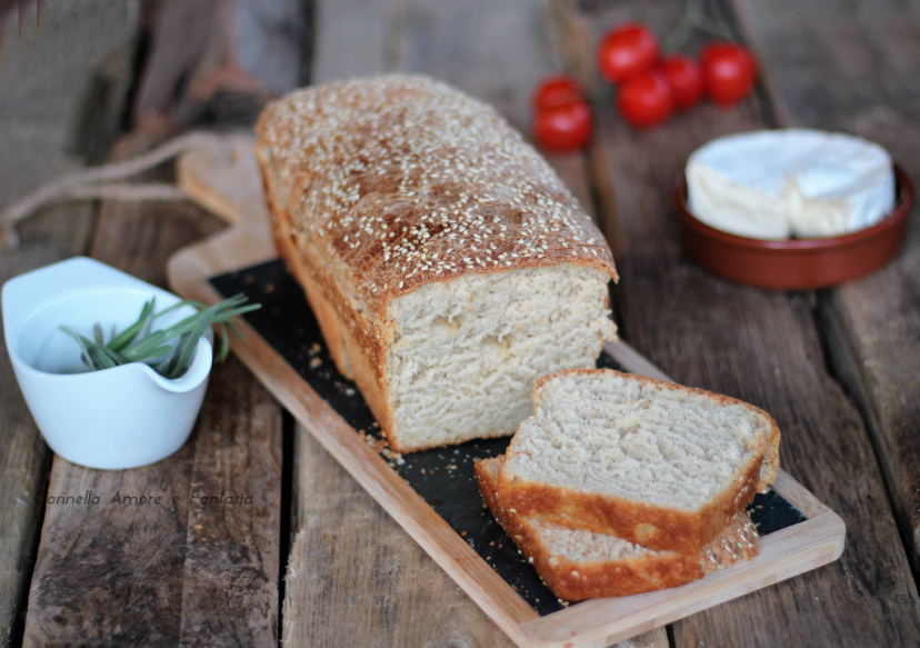 Pane di farro con 1 grammo di lievito