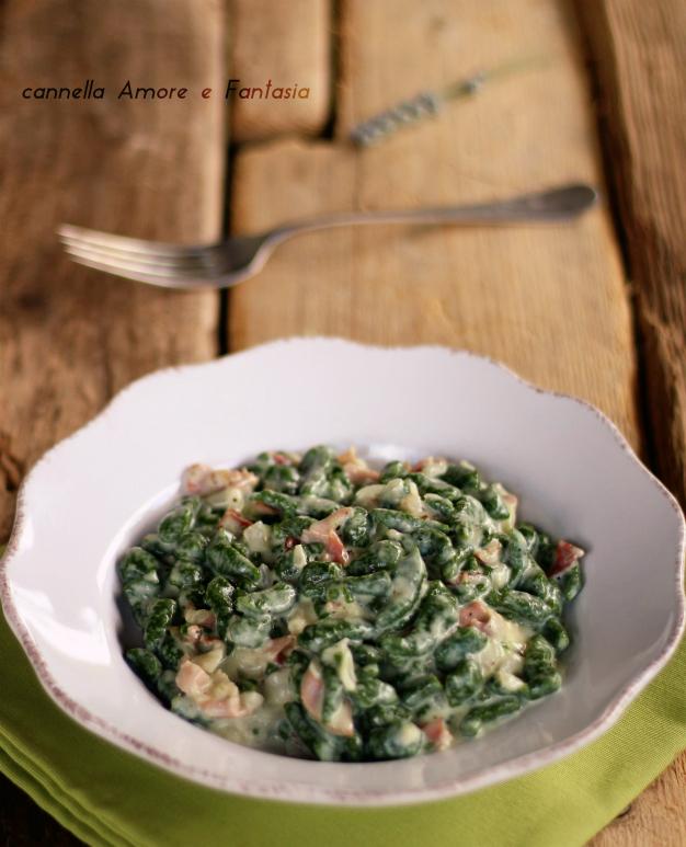 Spaetzle di spinaci