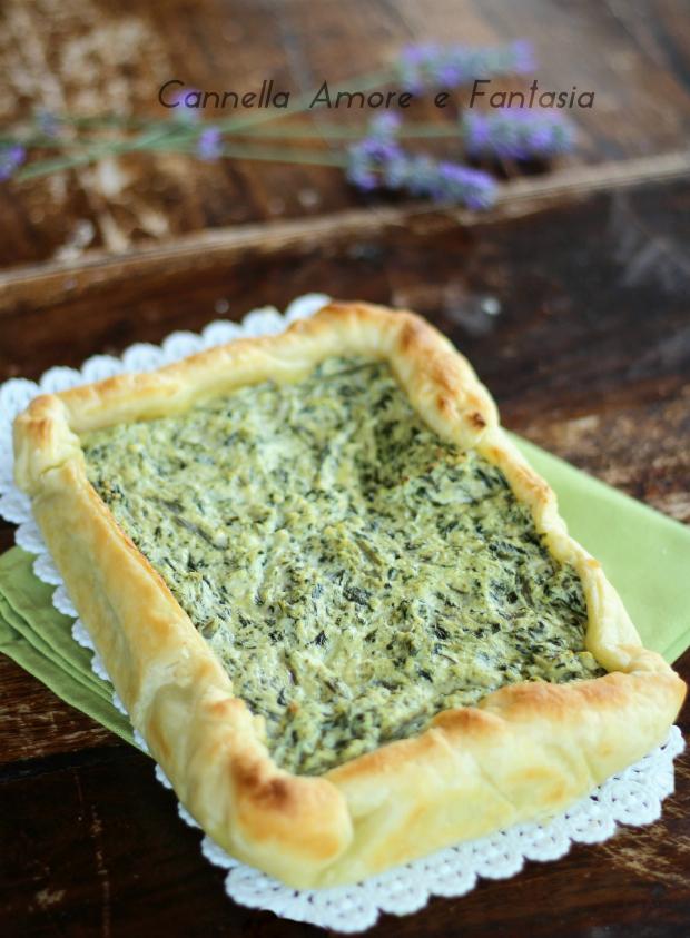 Torta salata con bietole e ricotta ricetta